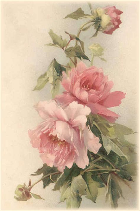 Prints For Decoupage - artbyjean paper crafts vintage roses decoupage and
