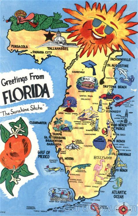 map of florida tourist attractions florida tourist map scenic fl
