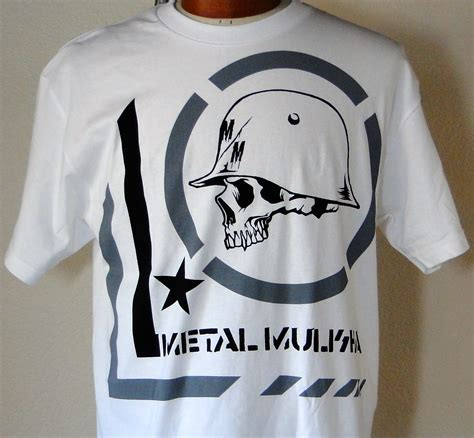 Adjy 05 Hello Boy Shirt Grey Set s white skull helmet design shirt metal mulisha skull pirate clothing stuff