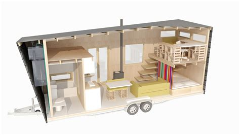 Two Bedroom Floor Plans House Tiny House Nederland