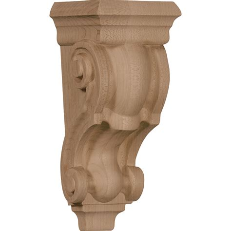 Custom Wood Corbels corbels brackets wood corbels traditional 3 5 x 3 x 7 small traditional corbel