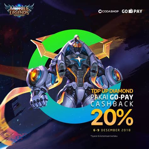 codashop mobile legend malaysia beli mobile legends di codashop ada cashbacknya