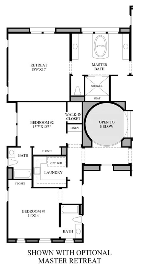 master retreat floor plans westcliffe at porter ranch palisades collection the