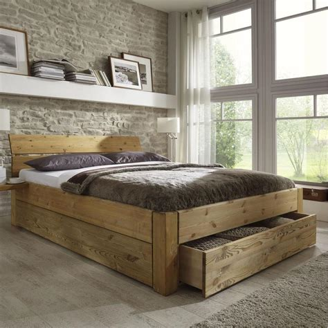 Bett 200x200 Holz by Best 25 Bett 180x200 Holz Ideas On Holzbett