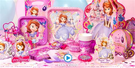 Sofia The First Birthday Giveaways - sofia the first party supplies sofia the first birthday ideas party city