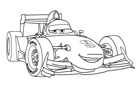 Coloring In Cars Coloring Pages From The 2 Disney Movies Cars 2 Coloring Pages Francesco