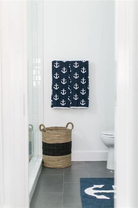 nautical tiles for bathroom gray and blue bathroom design ideas