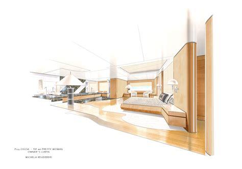 Interior Design pretty woman yacht interior design by michela reverberi