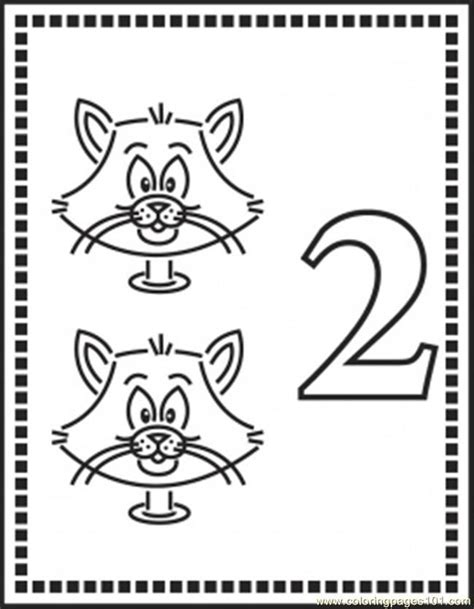 Number 2 Coloring Pages For Preschoolers by Number Coloring Pages For Preschoolers Az Coloring Pages