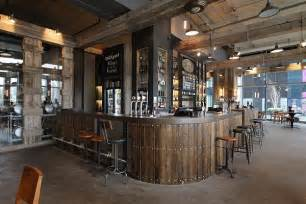 bringing industrial feel to a modern manchester bar hospitality catering news