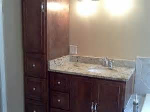 bathroom vanity and linen closet combo home design ideas closets idea doors