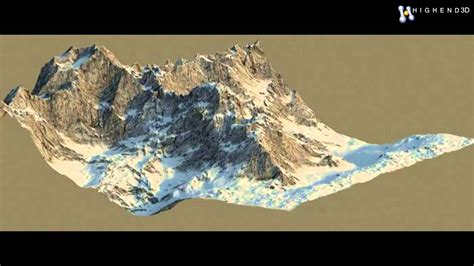 How To Make A 3d Mountain Out Of Paper - precision mountain 3d model from creativecrash