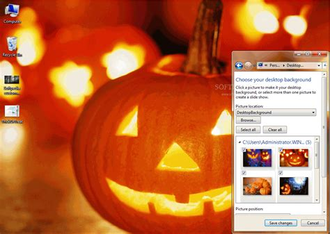 download theme windows 7 halloween trick or treat windows 7 theme download