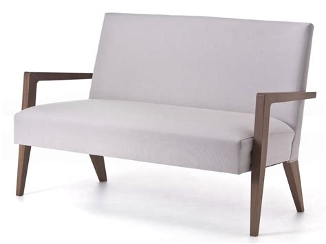 very small loveseat metro 05 small sofa by very wood design werther toffoloni
