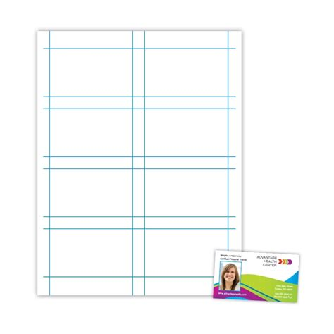 Printable Card Template Word by Free Business Card Template In Microsoft Word Ideas
