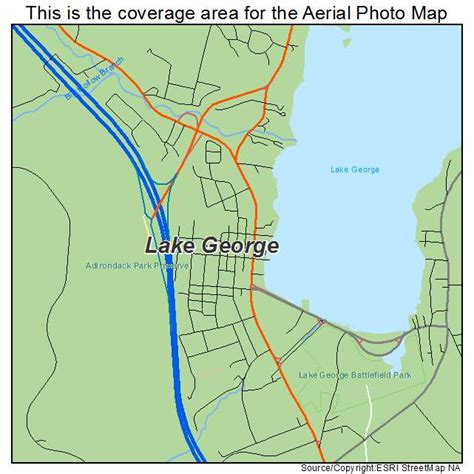 map of lake george ny aerial photography map of lake george ny new york