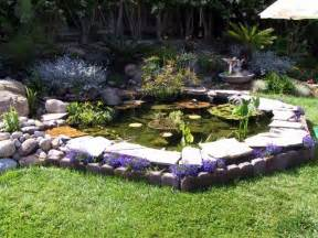 backyard ponds charmed dreaming of a backyard pond