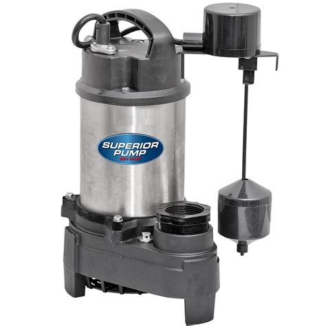 sump pumps superior 3 4 hp submersible stainless steel cast iron sump shop your way