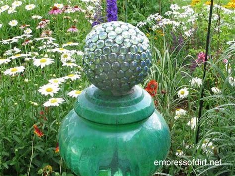 diy decorative garden ball tutorial empress of dirt