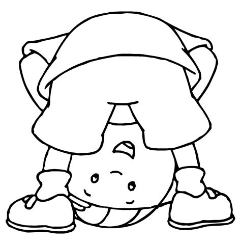 Coloring Page by Caillou Coloring Pages Best Coloring Pages For