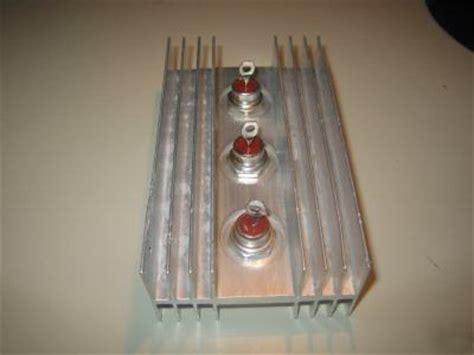 power rectifier diode heat sink three 40 s blocking diode w heavy duty heat sink