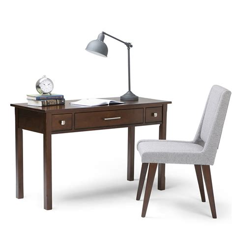 office desk in tobacco brown axcava008