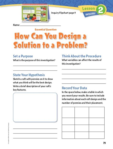design is a solution to a problem grade5