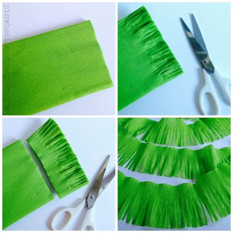 How To Make Grass With Paper - 17 best images about birthday ideas on