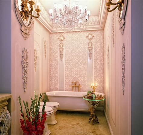 chic  pretty pink bathroom designs home design lover