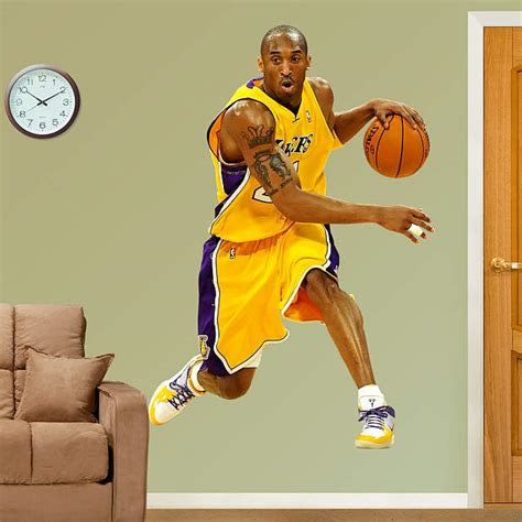 Fathead Gift Card - life size kobe bryant wall decal shop fathead 174 for los angeles lakers decor