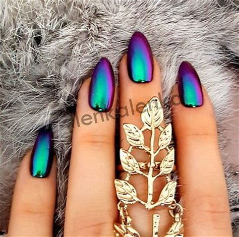 best 25+ chrome nails ideas on pinterest