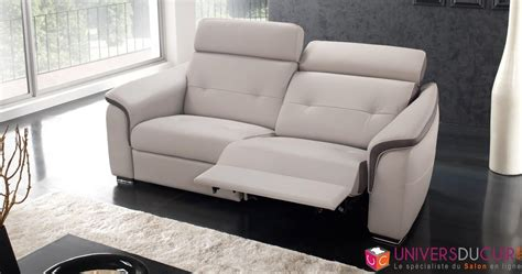 canap駸 relax design canape cuir relax electrique conforama 3339