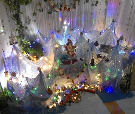 decorations at home ganpati decoration ideas at home pooja room decoration