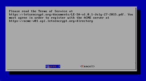 install lets encrypt ssl certificate  secure