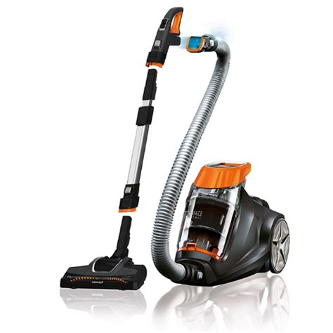 multi surface professional bagless canister vacuum 1233c
