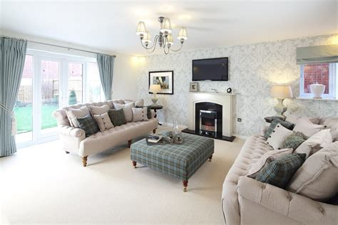 living room show new homes in wem taylor wimpey