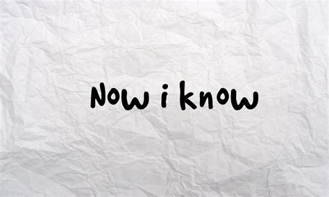i know now i know by rupal gogia