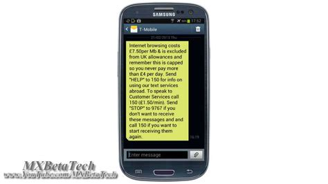 samsung galaxy s3 how to change background style for messages