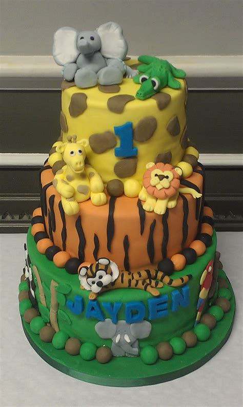 jungle themed birthday cake theme cakes archives the bake shop