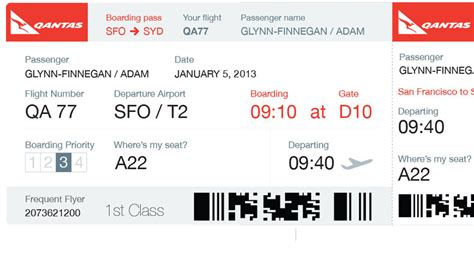 boarding pass should airlines redesign your boarding pass to look like