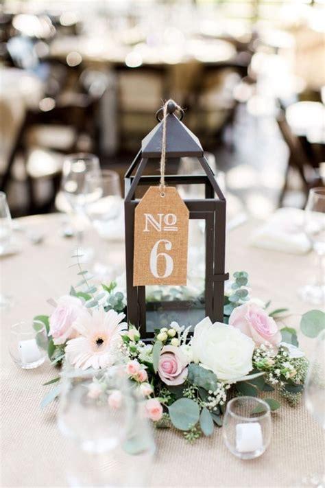 unique table number ideas  wedding receptions  diys