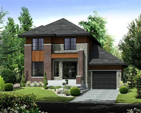Contemporary Style House Plan   3 Beds 1 Baths 1464 Sq/Ft