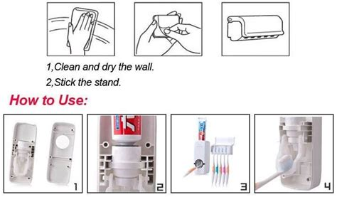 Tempat Sikat Gigi Odol Gantung Di Keramik Kaca Kamar Mandi Tanpa Paku automatic toothpaste squeezing device dispenser
