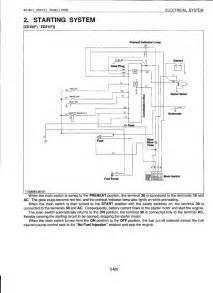 kubota g1800 key switch wiring diagram kubota b26 tractor