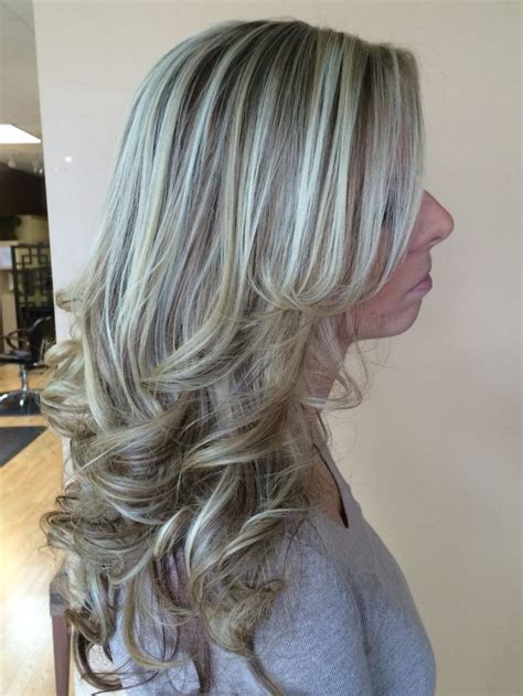 how long does it take for lowlights to fade in blonde hair icy blonde highlight with a warm lowlight hair