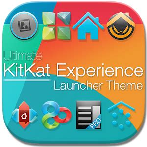 iphone themes for android kitkat kitkat 4 4 launcher theme personalization app for