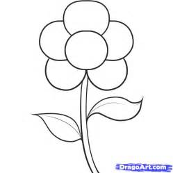 how to draw flower doodle how to draw an easy flower step by step flowers pop