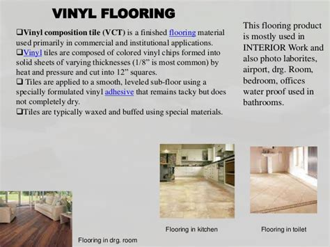 Kitchen Tiles India flooring and its types