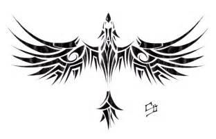 tribal phoenix tattoo model tattoobite com