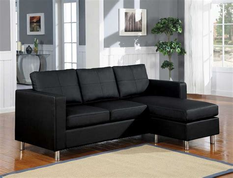 choosing black leather sofas for striking living room
